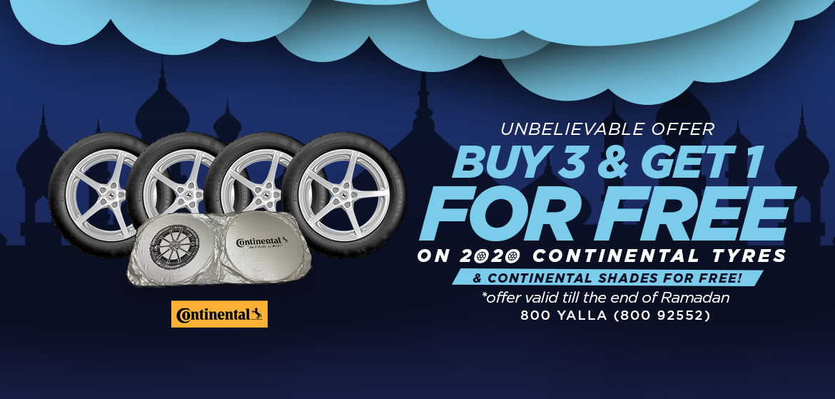 Continental - Buy 3 Get 1 Free