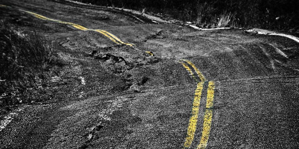 Go Slow On Bumpy Roads