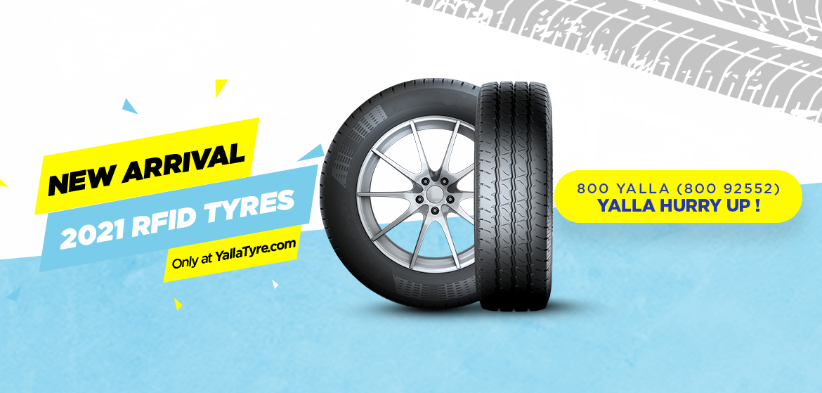 New Arrival RFID Tyres