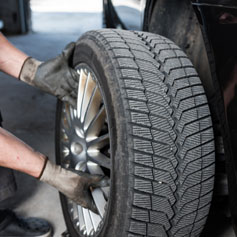 We Install your Tyres